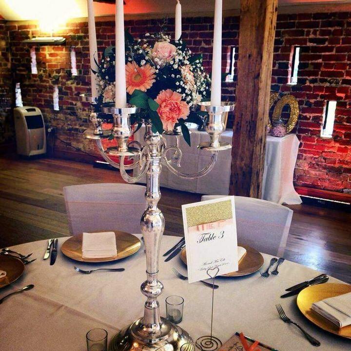 candelabra on table 3