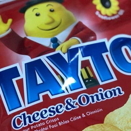 packet of tayto crisps